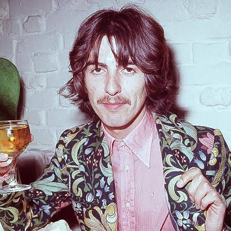 Pin by Kenneth B on George Harrison Color   George